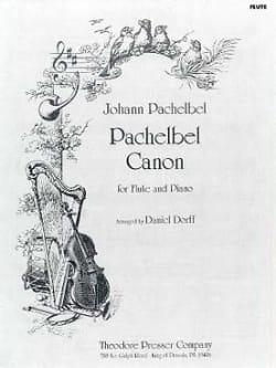 Canon - Flûte piano PACHELBEL Partition laflutedepan