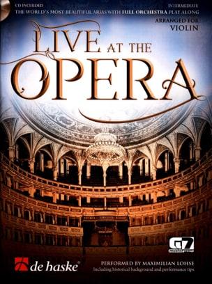 - Live at the Opera - Violon - Partition - di-arezzo.fr