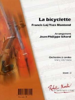 La Bicyclette - Lai Francis / Montand Yves - laflutedepan.com