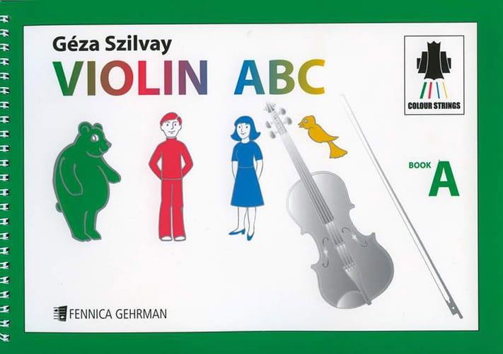 Violin ABC Book A - Geza Szilvay - Partition - laflutedepan.com
