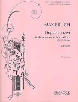 Doppelkonzert op. 88 -Klarinette o. Violine Viola Klavier laflutedepan