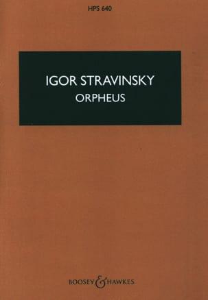 Orpheus - Score - STRAVINSKY - Partition - laflutedepan.com
