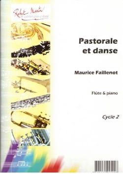 Pastorale et danse Maurice Faillenot Partition laflutedepan