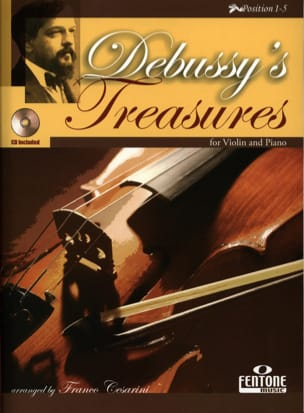 Debussy's Treasures - DEBUSSY - Partition - Violon - laflutedepan.com