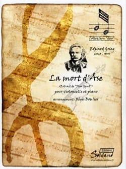 La Mort d'Ase extrait de Peer Gynt - Cello et piano GRIEG laflutedepan