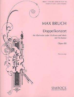 Doppelkonzert op. 88 -Klarinette o. Violine Viola Klavier - laflutedepan.com
