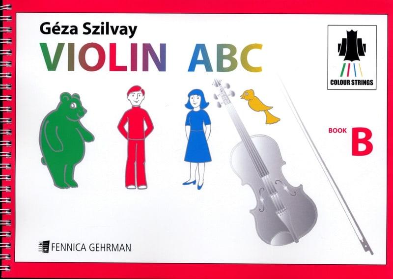 Violin ABC Book B - Geza Szilvay - Partition - laflutedepan.com