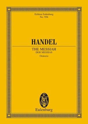 Der Messias HAENDEL Partition Petit format - laflutedepan