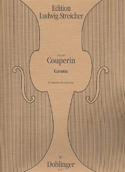 Gavotte - Contrebasse COUPERIN Partition Contrebasse - laflutedepan