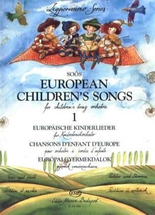 European Children's Songs, Volume 1 - String orch. laflutedepan