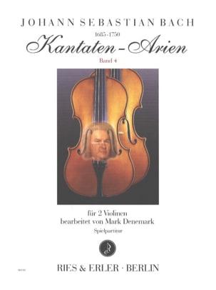 Kantaten-Arien, Vol. 4 - 2 violons BACH Partition laflutedepan