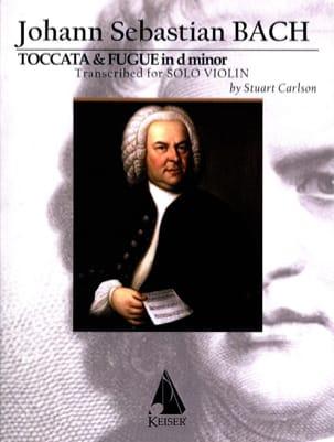 Johann Sebastian Bach - Toccata et Fugue - Violon seul - Partition - di-arezzo.fr