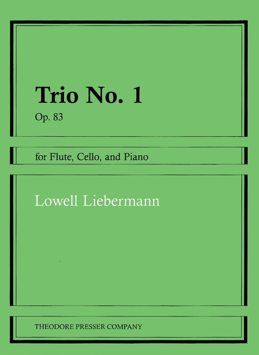 Trio n° 1 op. 83 - Lowell Liebermann - Partition - laflutedepan.com