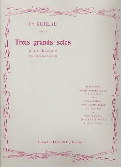 3 Grands solos op. 57 - n° 2 en la mineur laflutedepan