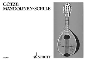 Mandolinen-Schule Walter Götze Partition Mandoline - laflutedepan