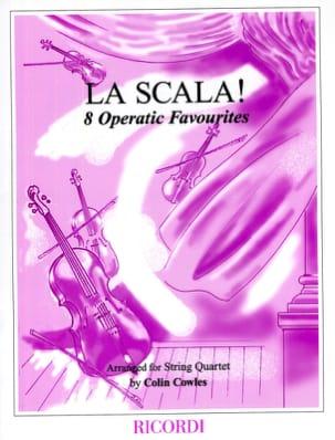 La Scala ! - String quartet Colin Cowles Partition laflutedepan