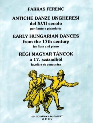 Danses Hongroises du 17ème siècle Ferenc Farkas Partition laflutedepan