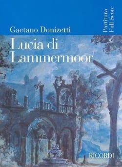 Lucia di Lammermoor DONIZETTI Partition Grand format - laflutedepan