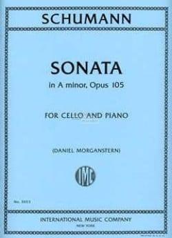 Sonate en la Mineur Opus 105 - SCHUMANN - Partition - laflutedepan.com