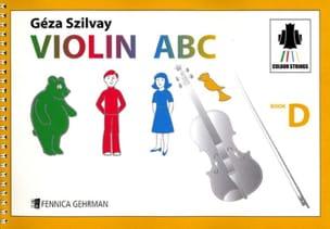Violin ABC Book D Geza Szilvay Partition Violon - laflutedepan