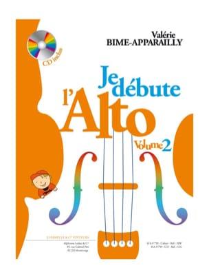 Je débute l'Alto - Volume 2 Valérie Bime-Apparailly laflutedepan