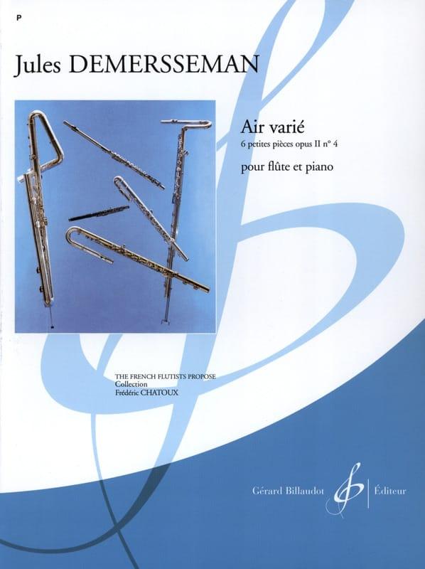 Air varié - Jules Demerssemann - Partition - laflutedepan.com