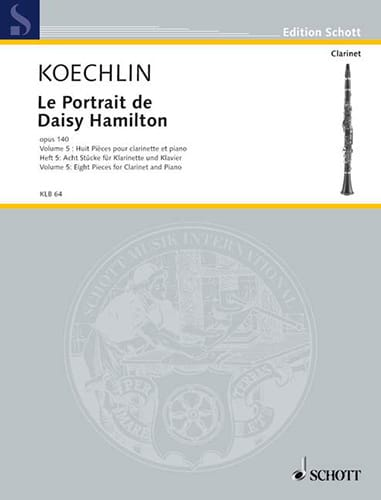 Le Portrait De Daisy Hamilton Op.140 Vol.5 - laflutedepan.com
