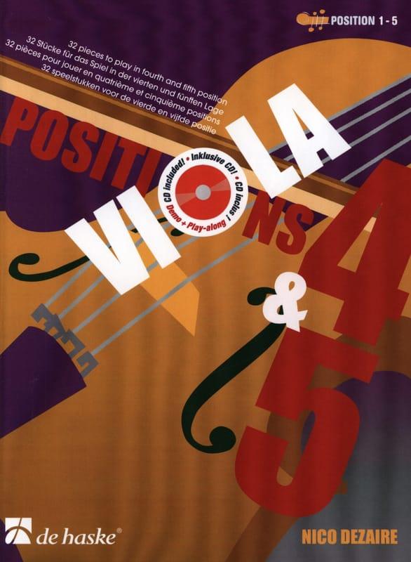 Positions 4 & 5 - Alto - Nico Dezaire - Partition - laflutedepan.com