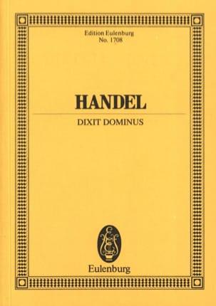Dixit Dominus HAENDEL Partition Petit format - laflutedepan