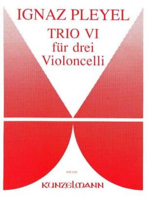 Trio Nr. 6 Ignaz Pleyel Partition Violoncelle - laflutedepan
