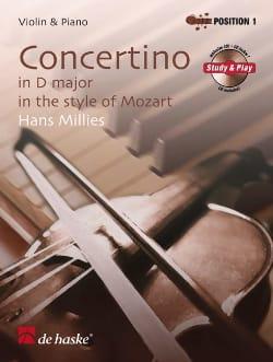 Concertino en Ré Maj. In Style Of Mozart - laflutedepan.com