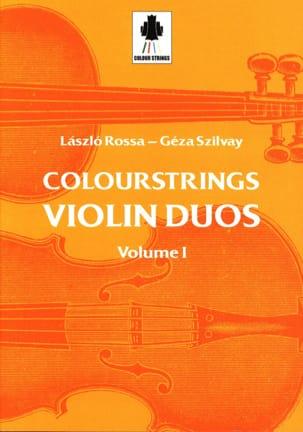 Violin Duos Vol 1 - Laszlo et Szilvay Géza Rossa - laflutedepan.com