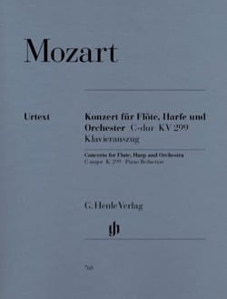 Concerto en Do Majeur, Kv 299 - Flûte, Harpe et piano laflutedepan