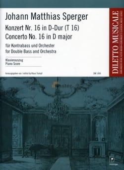 Concerto N° 16 en Ré Majeur - Contrebasse et piano laflutedepan