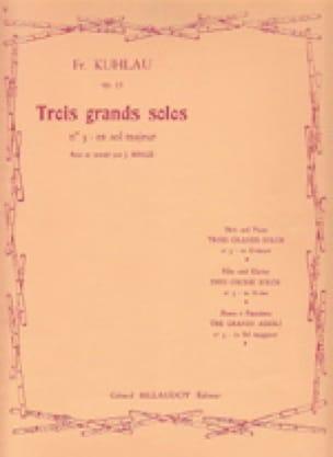3 Grands solos op. 57 - n° 3 en sol majeur - laflutedepan.com