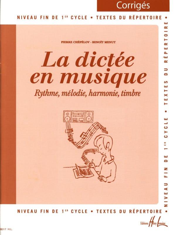 La Dictée en Musique - Corrigé - Volume 3 - laflutedepan.com