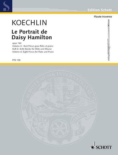 Le Portrait De Daisy Hamilton Op.140 Vol.4 - laflutedepan.com