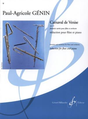 Carnaval de Venise op. 14 - Flûte piano laflutedepan