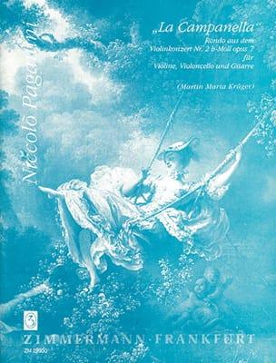 La Campanella -violine Cello Gitarre - Partitur + Stimmen laflutedepan