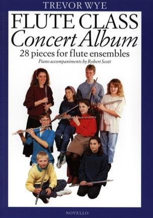 Flute Class - Concert Album Trevor Wye Partition laflutedepan