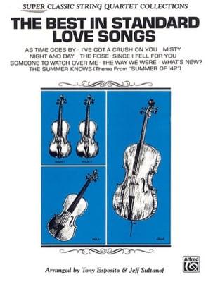The Best in Standard Love Songs - String Quartet laflutedepan
