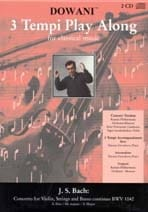 Concerto Violon BWV 1042 mi maj. - CD - BACH - laflutedepan.com