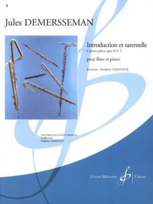 Introduction et Tarentelle op. 2 n° 5 Jules Demerssemann laflutedepan