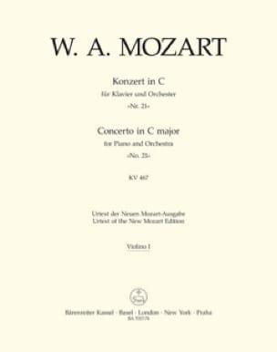 Klavierkonzert Nr. 21 C-Dur KV 467 - Matériel complet - laflutedepan.com