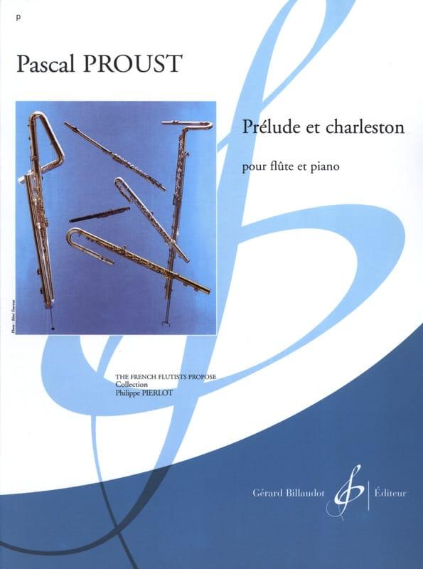 Prélude et Charleston - Pascal Proust - Partition - laflutedepan.com