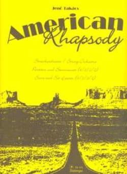 American Rhapsody - Partitur + Stimmenset Jenö Takács laflutedepan