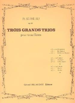 3 Grands Trios Op. 86 - N° 3 en Mib Majeur laflutedepan