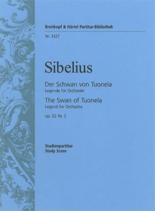 Der Schwan Von Tuonela Op.22 N°2 SIBELIUS Partition laflutedepan