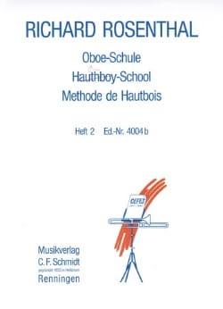 Méthode de hautbois - Volume 2 Richard Rosenthal laflutedepan