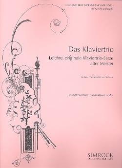 Das Klaviertrio - Leichte, originale Trio-Sätze alter Meister laflutedepan